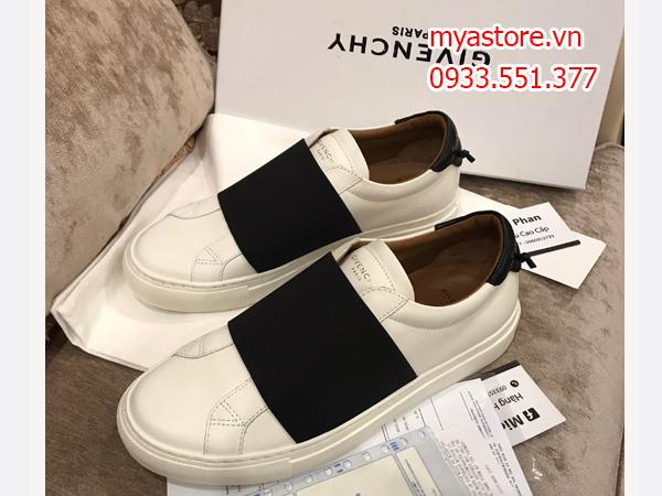 Giày nam Givenichy Pari strap sneaker in leather